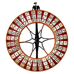 Wooden Dice Gambling Wheel