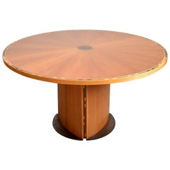 Wooden Dining Table 'Artona' by Tobia and Afra Scarpa for Maxalto, 1980s