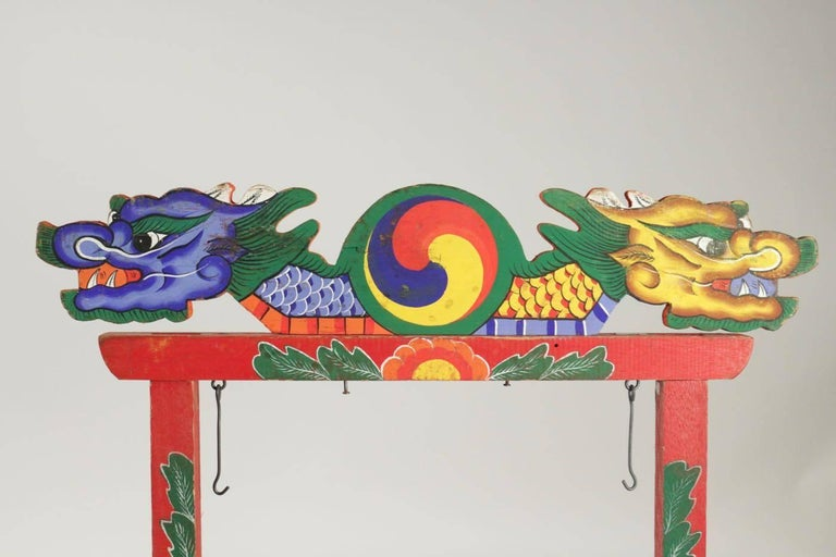 Asian Wooden Element of Chinese Presentation Peice  For Sale