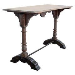 Wooden French Bistro Table