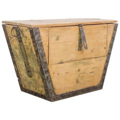 Wooden French Trunk