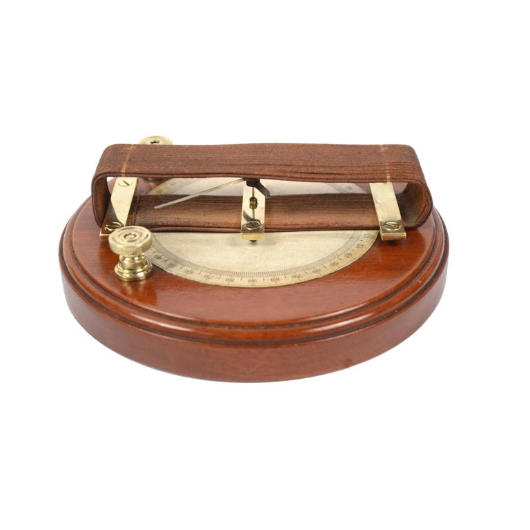 Wooden Galvanometer of the Mid-19th Century For Sale 1
