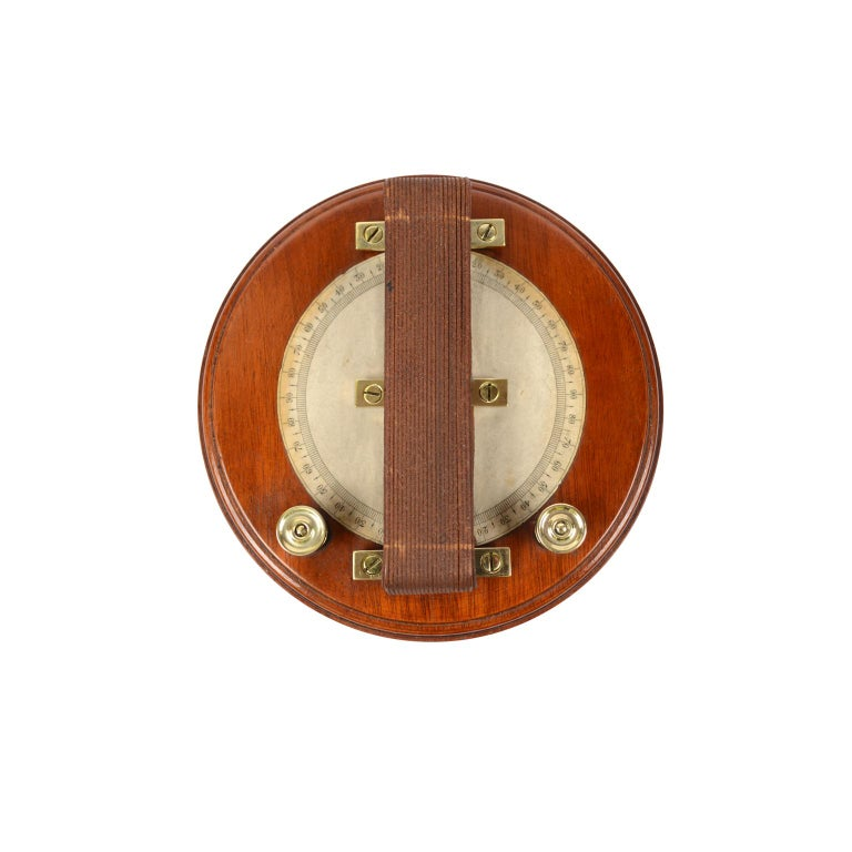 Wooden Galvanometer of the Mid-19th Century For Sale