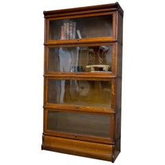 Wooden Globe Wernicke Bookcase / Showcase