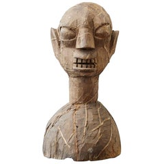 Wooden Head of an Ooni of Ile-Ife, Yoruba People, Nigeria, circa 1930s