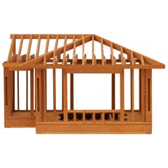Wooden House Architectural Model