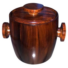 Wooden Ice Bucket by Jean Gillon