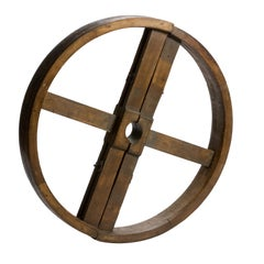 Wooden Industrial Wheel