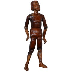 Wooden Mannequin, France, 19th Century