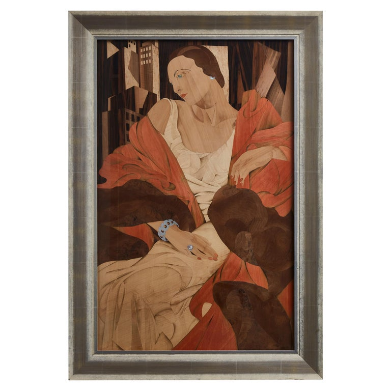 Wooden Marquetry Wall Art at Cost Price For Sale