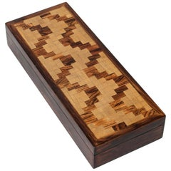 Wooden Midcentury Case by Alfred Klitgaard