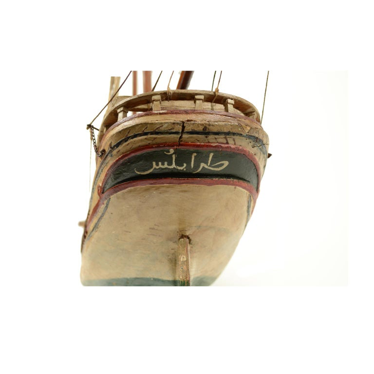 Wooden Model of a Ship 1915 circa For Sale 1