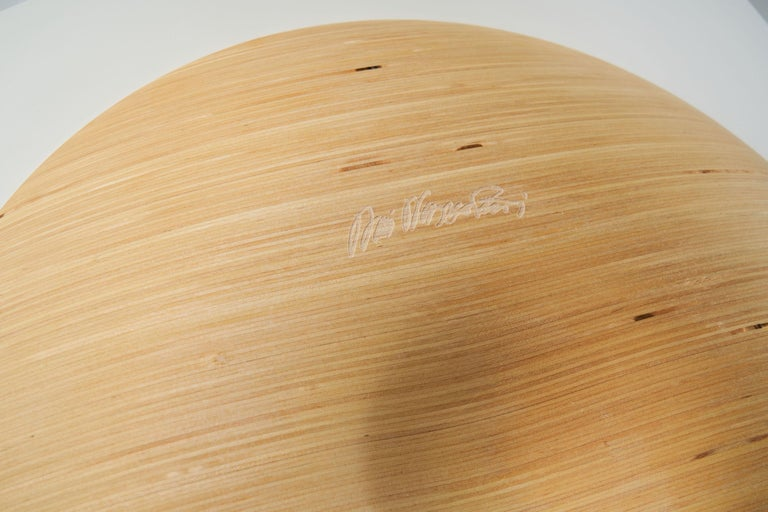Wooden Plates by Antti Nurmesniemi, Finland, circa 1980s For Sale 9