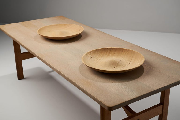 Carved Wooden Plates by Antti Nurmesniemi, Finland, circa 1980s For Sale