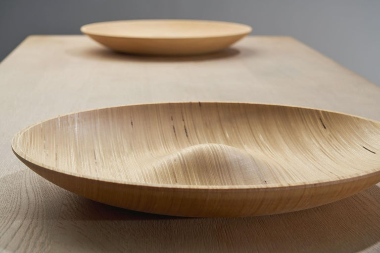 Wooden Plates by Antti Nurmesniemi, Finland, circa 1980s For Sale 1