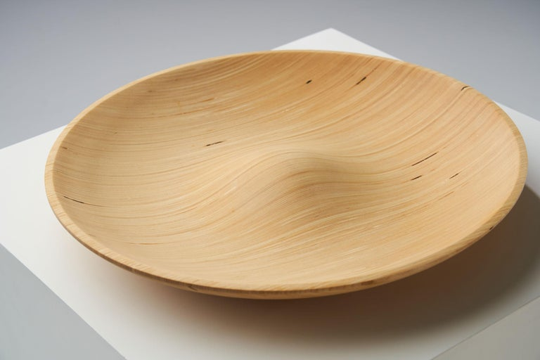 Wooden Plates by Antti Nurmesniemi, Finland, circa 1980s For Sale 2