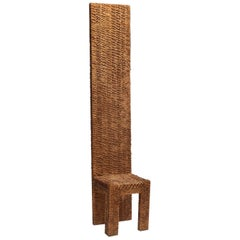 Wooden Sculpture by Urano Palma, Italy, 1970s