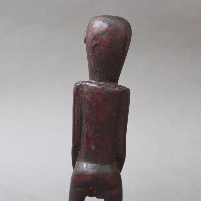 Wooden Sculpture or Carving of Fertility Figure from Sumba Island, Indonesia For Sale 9