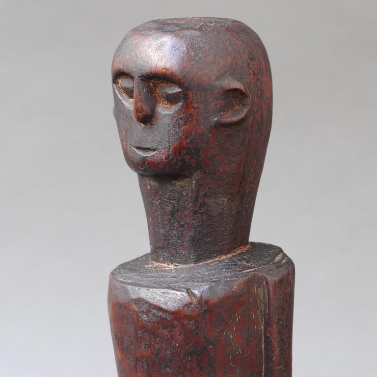 Wooden Sculpture or Carving of Fertility Figure from Sumba Island, Indonesia For Sale 10