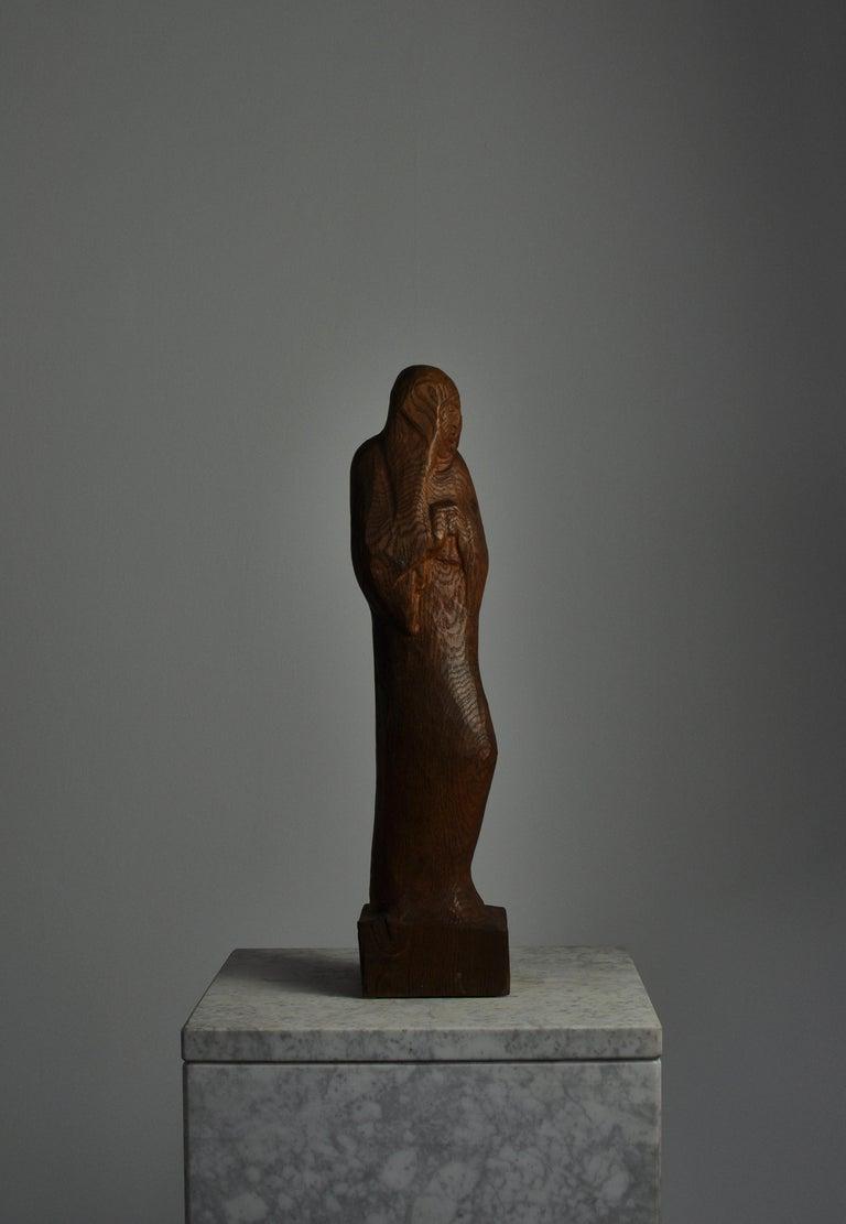 Beautiful expressive sculpture of