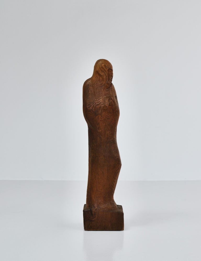 Danish Wooden Sculpture