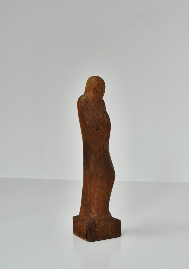 Mid-20th Century Wooden Sculpture