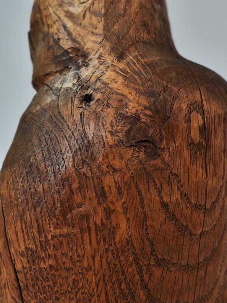 Oak Wooden Sculpture