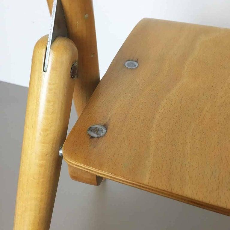 Wooden SE18 Children's Chair by Egon Eiermann for Wilde & Spieth, Germany 1950s For Sale 3