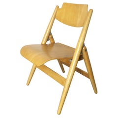 Wooden SE18 Children's Chair by Egon Eiermann for Wilde & Spieth, Germany 1950s