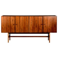 Wooden Sideboard by Ib Kofod-Larsen for Faarup Møbelfabrik