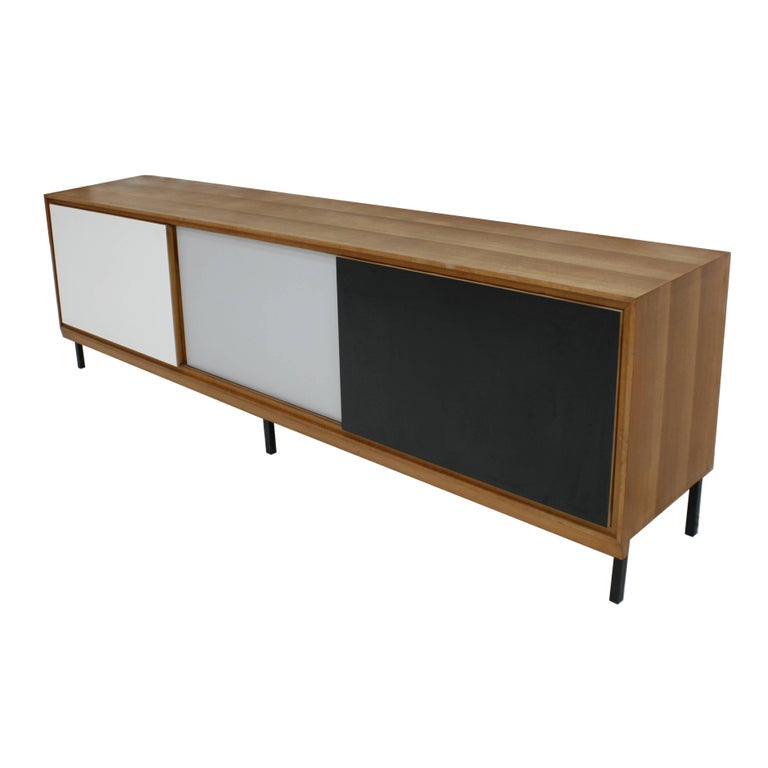 French Wooden Sideboard, France, 1950s For Sale