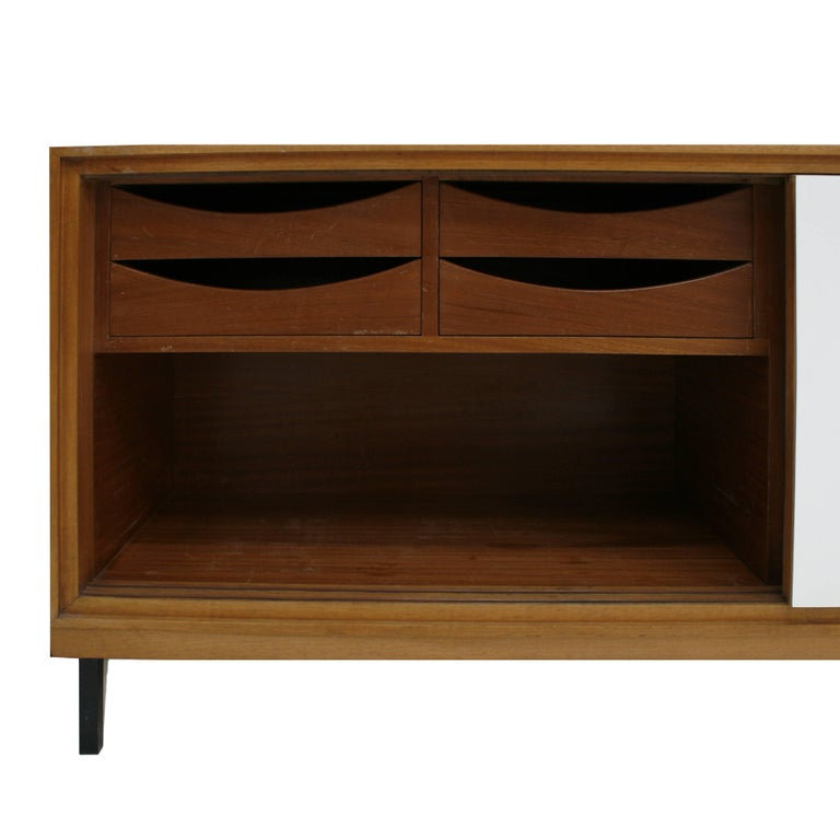 Wooden Sideboard, France, 1950s In Excellent Condition For Sale In Madrid, ES