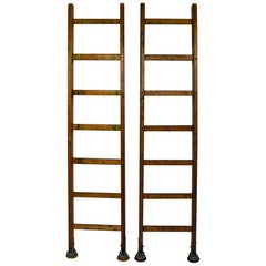 Wooden Slingsby Ladders with Cup Feet, London, UK