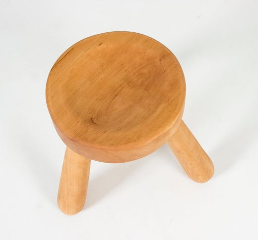 Superb Wooden Stool By Ingvar Hildingsson At 1Stdibs Andrewgaddart Wooden Chair Designs For Living Room Andrewgaddartcom