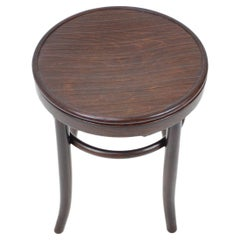 Wooden Stool Fischel, in Style of Thonet, circa 1910's