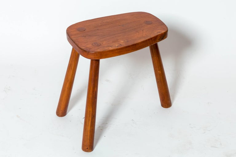 French Wooden Tabourets For Sale