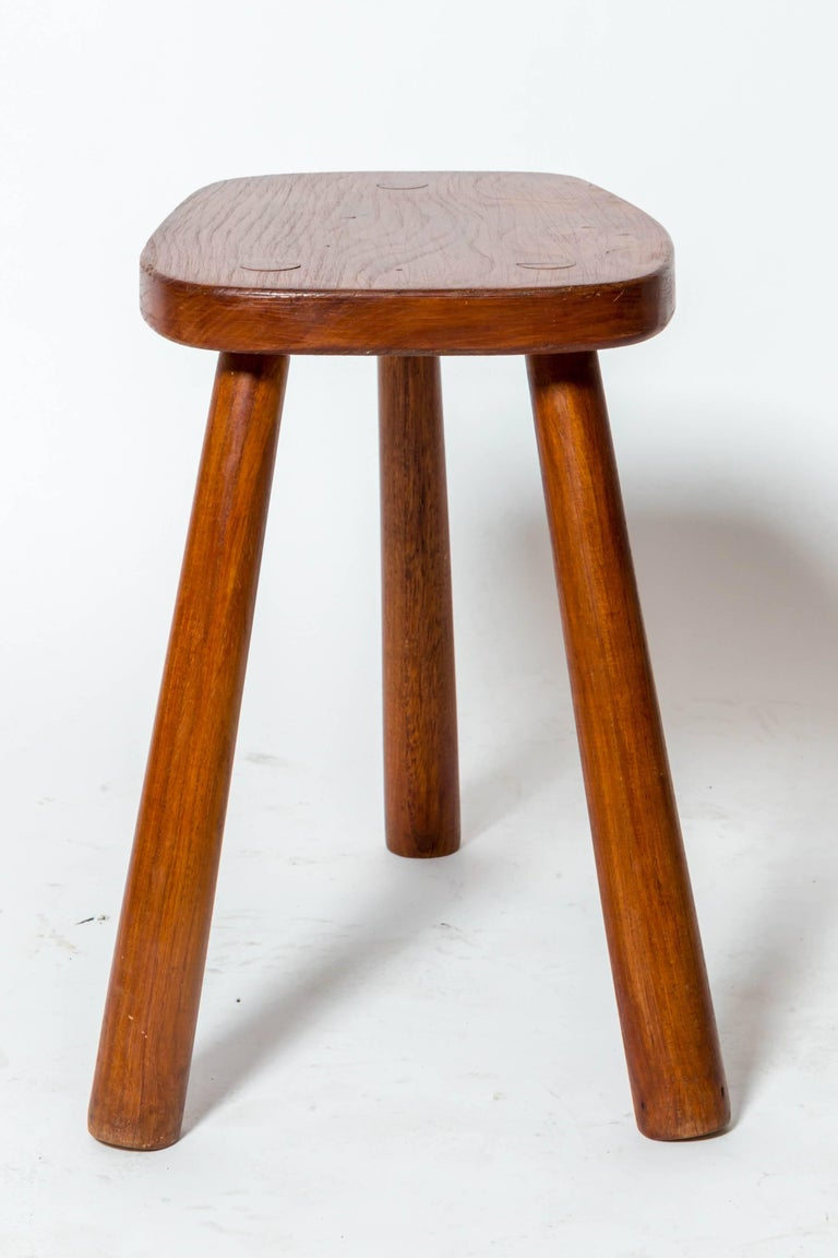Mid-20th Century Wooden Tabourets For Sale