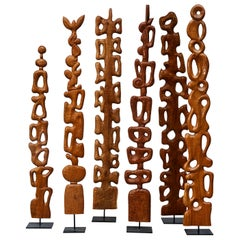 Wooden Totems