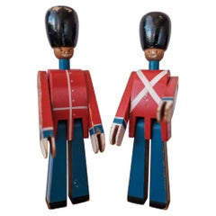 Wooden Toy Soldiers by Kay Bojesen