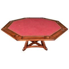 Woodland Furniture Custom Amato Octagonal Game Table
