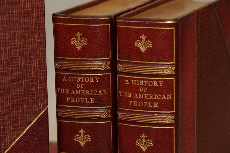 Early 20th Century Woodrow Wilson, a History of the American People
