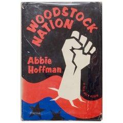 """Woodstock Nation"" Book by Abbie Hoffman, 1969"