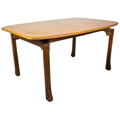 Woodworking Studio Dining Table by Ejner Pagh