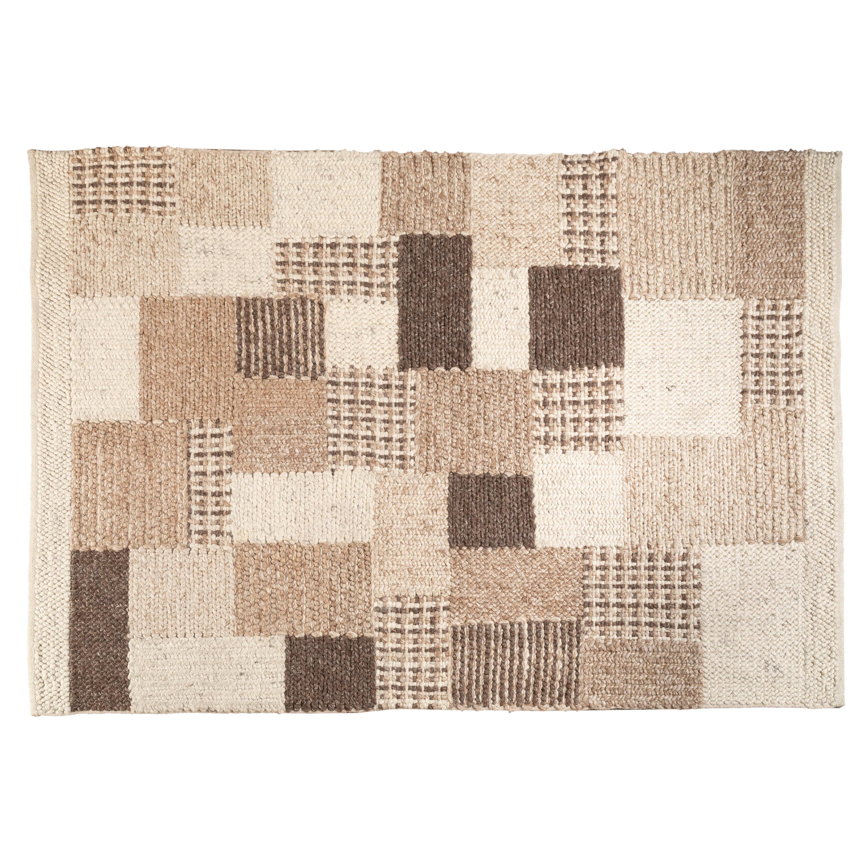 Wool Flat-Weave Carpet, Sweden, 1970s