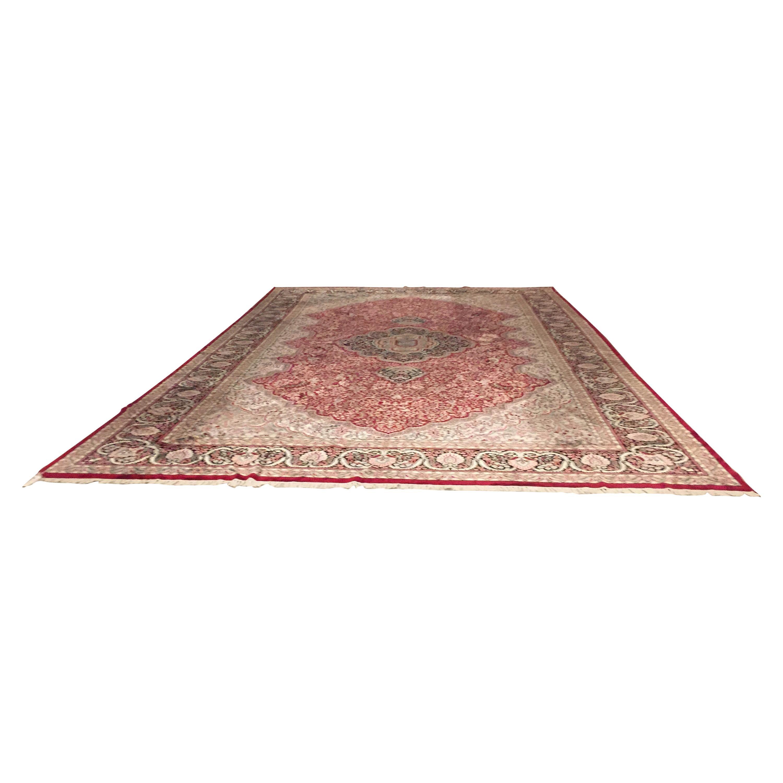 Wool Handwoven Oriental Carpet