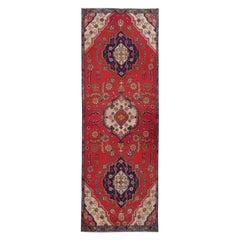 Wool Runner Rug Handmade Red Carpet Traditional Stair Runner