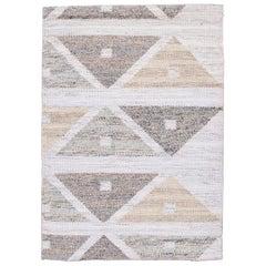 Wool Scandinavian Style Kilim Custom Rug