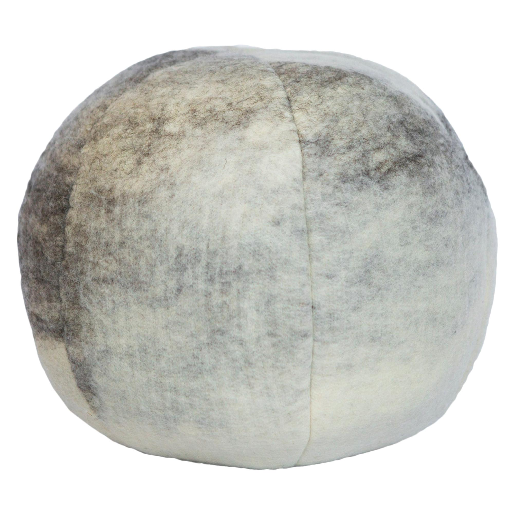 Wool Snowball Cloud Pillow