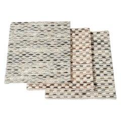 Wool Textured Custom Rug
