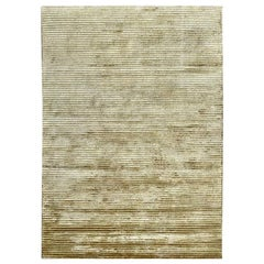 Wool Viscose Modern Rug Gold Hues by Deanna Comellini 170x240 cm